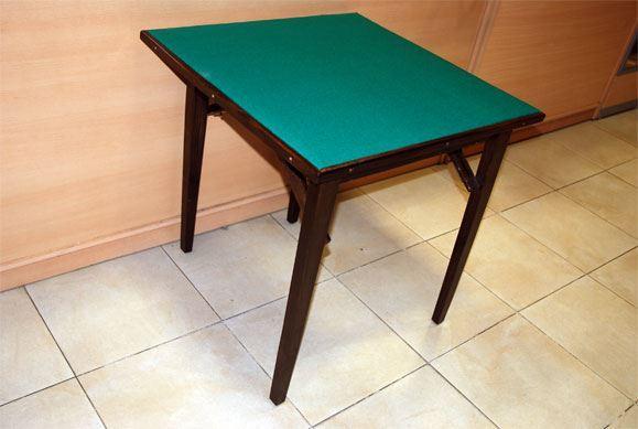 Casa zanzi mesa de juego cuadrada 75x75 for Mesa salon cuadrada