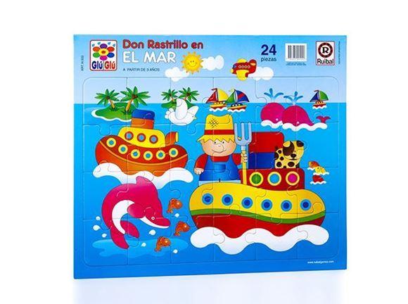Imagen de Puzzle 24 piezas - Don Rastrillo En El Mar