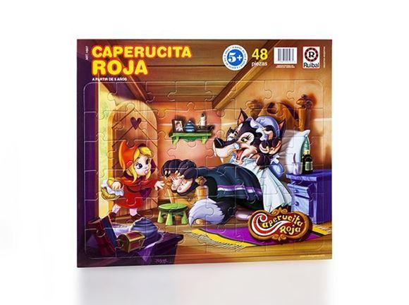 Imagen de Puzzle 48 piezas - Caperucita Roja