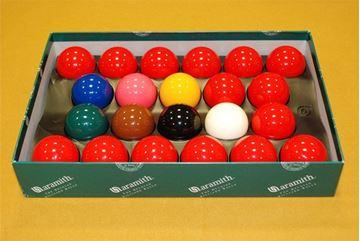 Imagen de Juego Bolas Snooker Aramith Premier 54mm