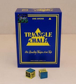 Imagen de Tiza Triangle Azul  X 144