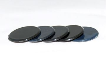 Imagen de Fichas redondas 35 mm x 100 Unidades NEGRO