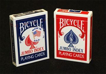 Imagen de Naipe Bicycle Poker X 54 Jumbo Index