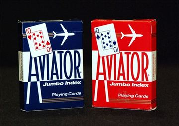 Imagen de Naipe Aviator Poker Size Jumbo Index