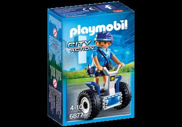 Imagen de PLAYMOBIL 6877 - POLICIA CON BALANCE RACER