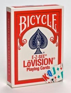 Imagen de Bicycle E-Z See/Lo Vision  Rojo