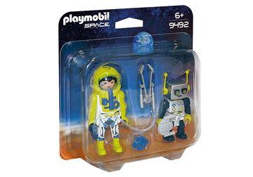 Imagen de Playmobil 9492 - Duo Pack - Astronauta Y Robot