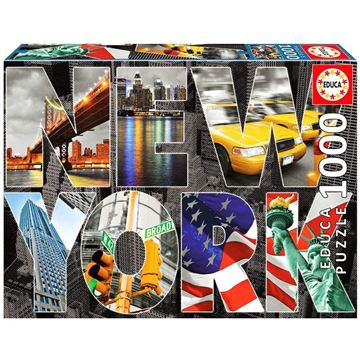 Imagen de Puzzle 1000 Piezas - Collage de New York