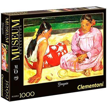 Imagen de Puzzle 1000 Piezas - Mujeres Tahitianas en la playa - Gauguin