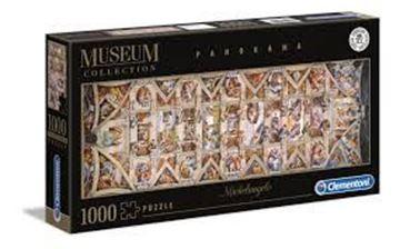 Imagen de Puzzle 1000 Piezas - Capilla Sixtina - Michelangelo