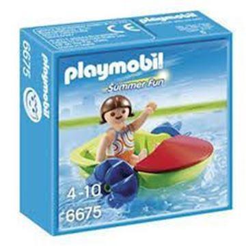 Imagen de Playmobil 6675 - Bote Con Niños