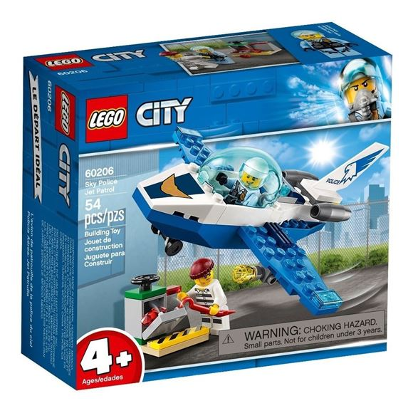 Imagen de Lego 60206 - Jet Patrulla