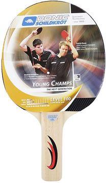 Imagen de Paleta Ping Pong Donic Young Champs Mod 100